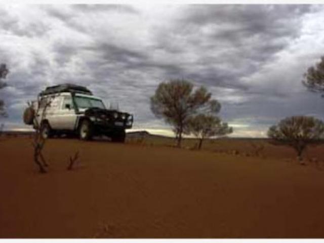 Об управлении внедорожником на песчаном покрытии