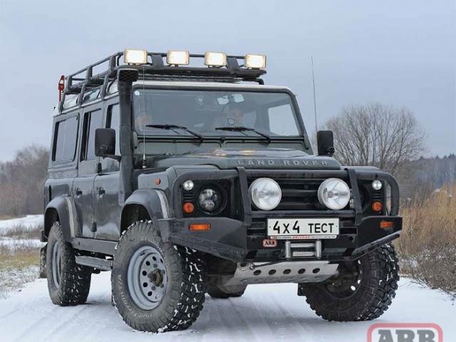 Вооружаем бравый Land Rover Defender немецким «автоматом».