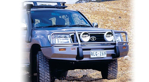 Бампер передний ARB Deluxe под лебедку для Toyota Land Cruiser  100 IFS 02+