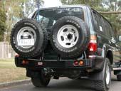 Задний бампер ARB для  Toyota Land Cruiser 80 (под калитки)