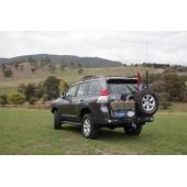 Бампер Kaymar для Toyota Land Cruiser Prado 150 2010-2016