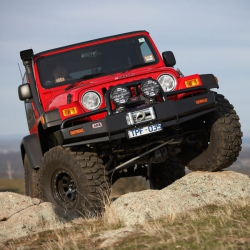Deluxe Winch Bar Jeep Wrangler TJ